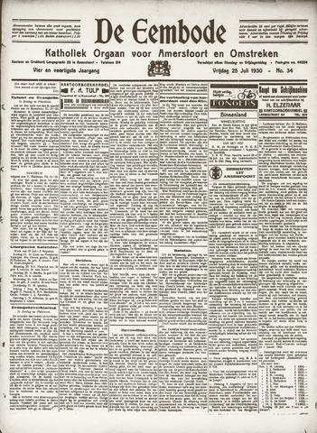 De Eembode 1930-07-25