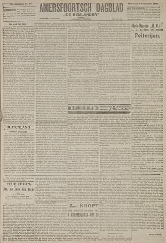 Amersfoortsch Dagblad / De Eemlander 1920-09-06