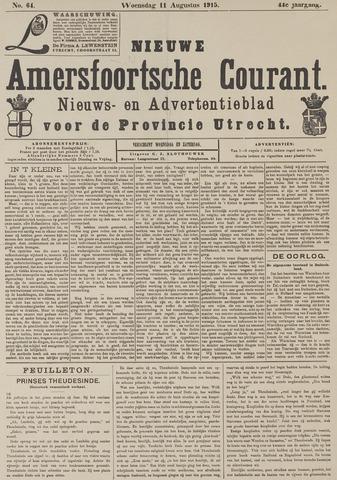 Nieuwe Amersfoortsche Courant 1915-08-11