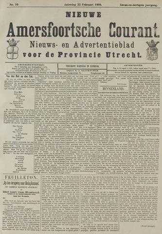 Nieuwe Amersfoortsche Courant 1908-02-22