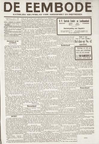 De Eembode 1921-08-05