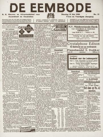 De Eembode 1928-05-15