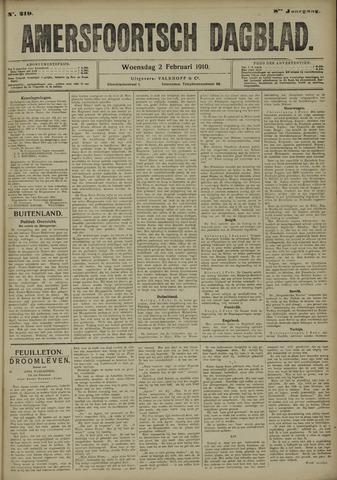 Amersfoortsch Dagblad 1910-02-02