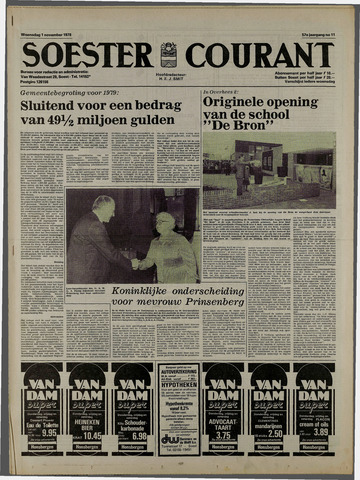 Soester Courant 1978-11-01