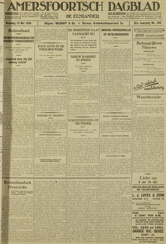 Amersfoortsch Dagblad / De Eemlander 1934-05-14
