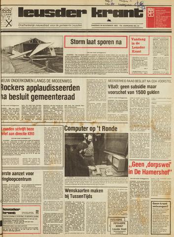 Leusder Krant 1983-11-29