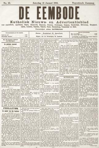 De Eembode 1906-01-13