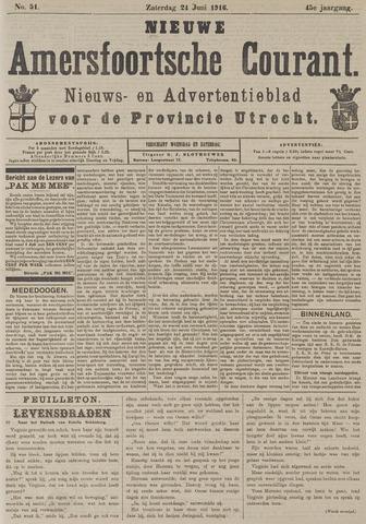 Nieuwe Amersfoortsche Courant 1916-06-24