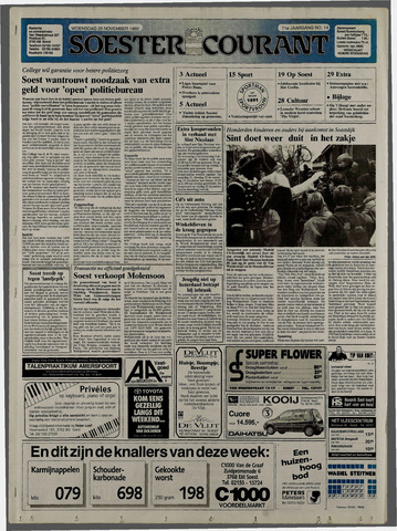 Soester Courant 1992-11-25