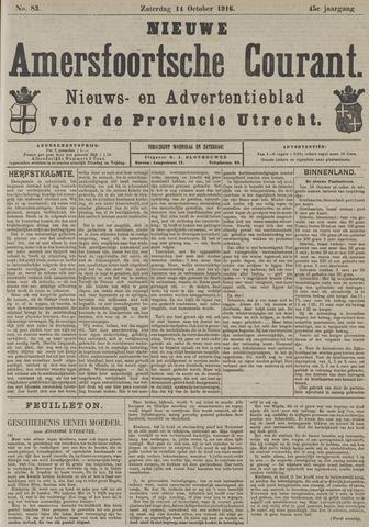 Nieuwe Amersfoortsche Courant 1916-10-14