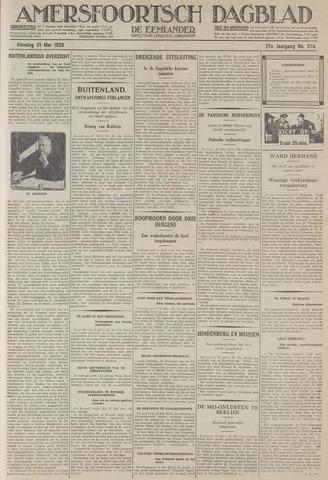 Amersfoortsch Dagblad / De Eemlander 1929-05-21