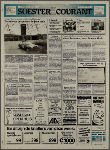 Soester Courant 1992-05-27