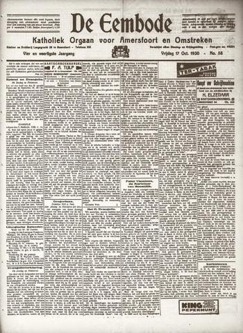 De Eembode 1930-10-17