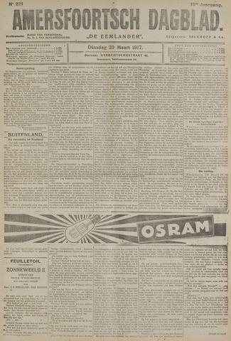 Amersfoortsch Dagblad / De Eemlander 1917-03-20