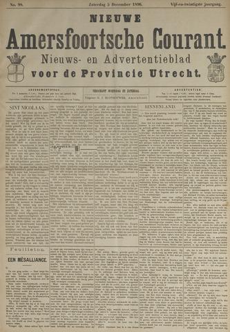 Nieuwe Amersfoortsche Courant 1896-12-05