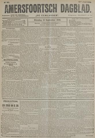 Amersfoortsch Dagblad / De Eemlander 1916-09-12
