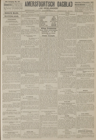 Amersfoortsch Dagblad / De Eemlander 1925-12-19