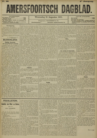 Amersfoortsch Dagblad 1905-08-16