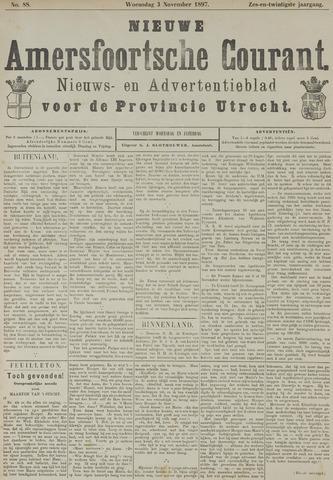 Nieuwe Amersfoortsche Courant 1897-11-03