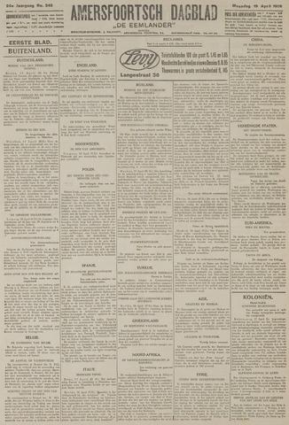 Amersfoortsch Dagblad / De Eemlander 1926-04-19