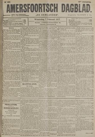 Amersfoortsch Dagblad / De Eemlander 1917-02-07