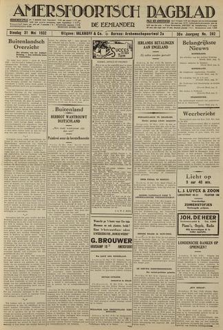 Amersfoortsch Dagblad / De Eemlander 1932-05-31