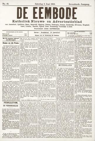 De Eembode 1903-06-06
