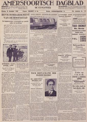 Amersfoortsch Dagblad / De Eemlander 1936-11-10