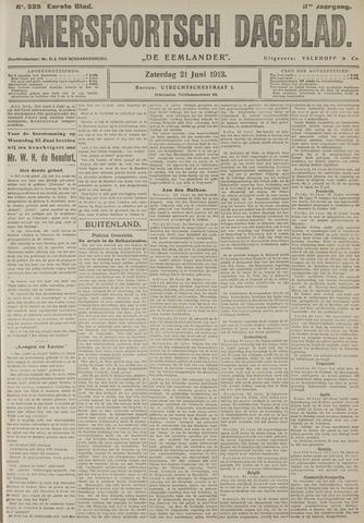 Amersfoortsch Dagblad / De Eemlander 1913-06-21