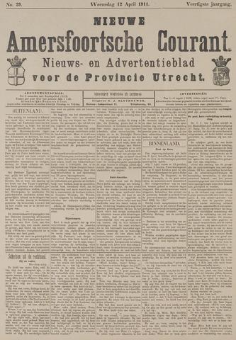 Nieuwe Amersfoortsche Courant 1911-04-12