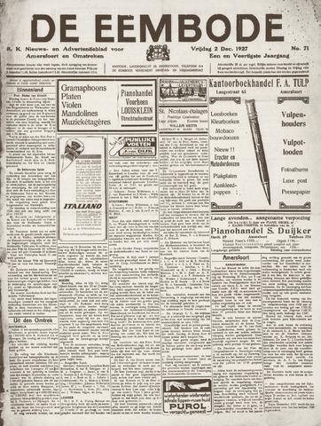 De Eembode 1927-12-02