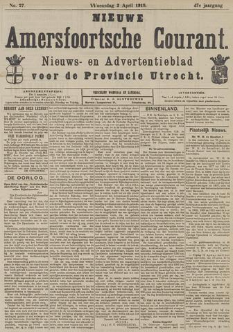 Nieuwe Amersfoortsche Courant 1918-04-03