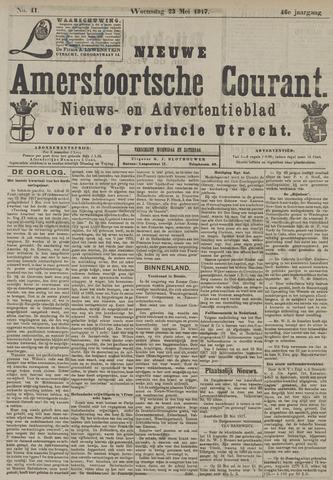 Nieuwe Amersfoortsche Courant 1917-05-23