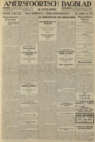 Amersfoortsch Dagblad / De Eemlander 1932-04-14