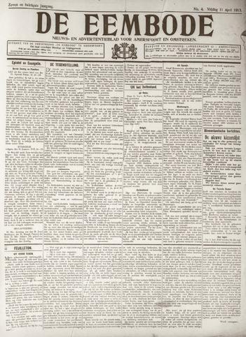 De Eembode 1913-04-11