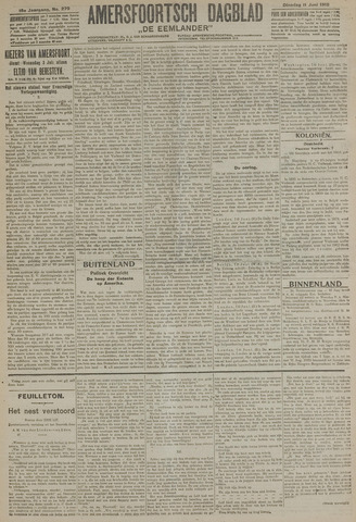 Amersfoortsch Dagblad / De Eemlander 1918-06-11