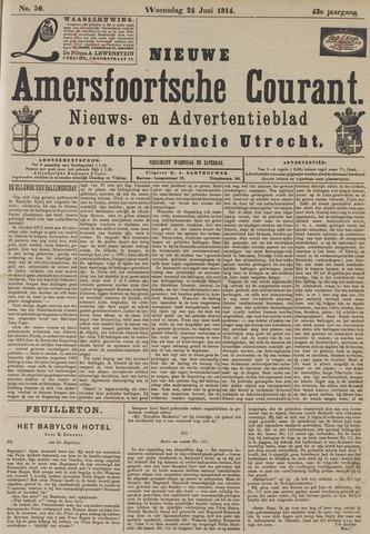 Nieuwe Amersfoortsche Courant 1914-06-24