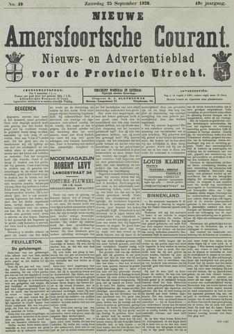 Nieuwe Amersfoortsche Courant 1920-09-25