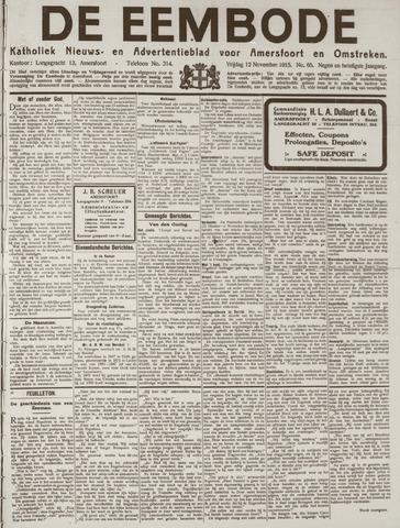 De Eembode 1915-11-12