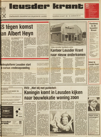 Leusder Krant 1985-03-28