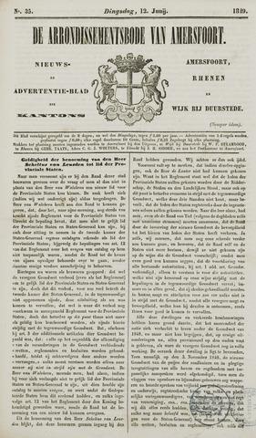 Arrondissementsbode van Amersfoort 1849-06-12