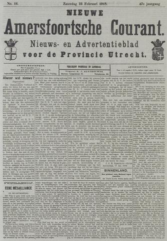 Nieuwe Amersfoortsche Courant 1918-02-23