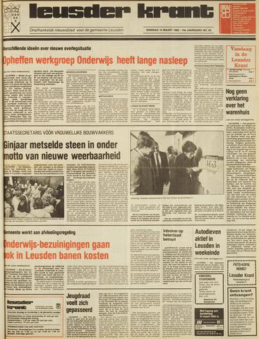 Leusder Krant 1983-03-15