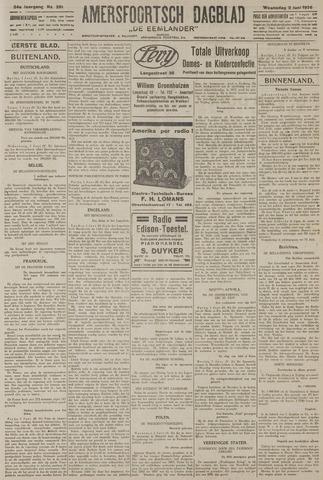 Amersfoortsch Dagblad / De Eemlander 1926-06-02