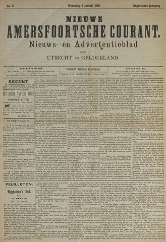 Nieuwe Amersfoortsche Courant 1890-01-08