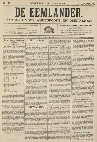 De Eemlander 1912-01-18