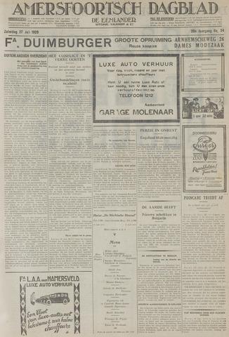 Amersfoortsch Dagblad / De Eemlander 1929-07-27