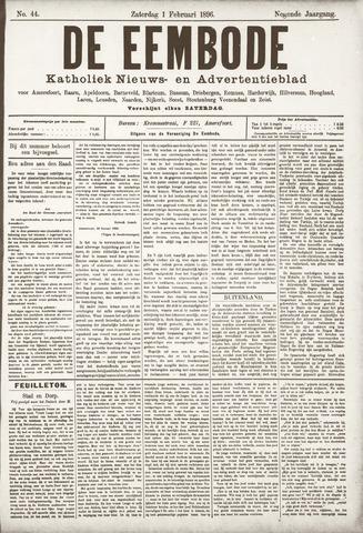 De Eembode 1896-02-01