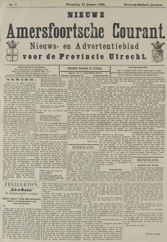 Nieuwe Amersfoortsche Courant 1908-01-22