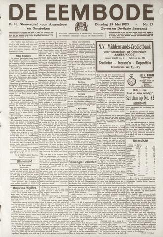 De Eembode 1923-05-29